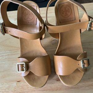 Tory Burch platform sandal - worn once